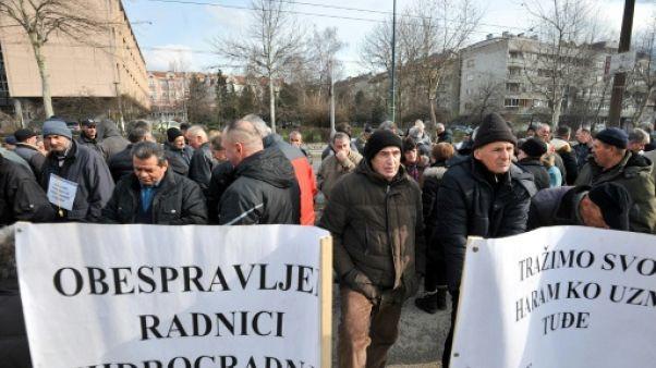 Le combat désespéré des ouvriers retraités de Bosnie