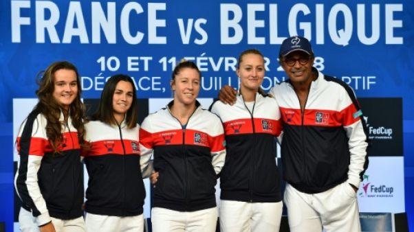 Fed Cup: l'espoir Kristina Mladenovic face à la Belgique