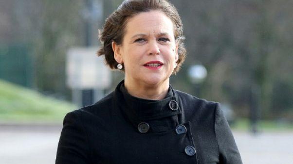 Mary Lou McDonald, la femme à la tête du Sinn Féin irlandais