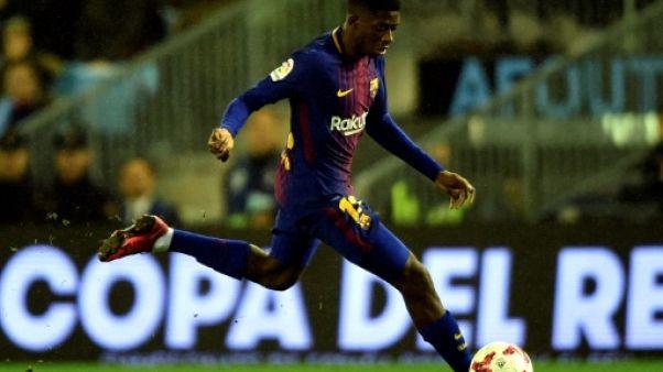 FC Barcelone: feu vert médical pour Démbélé, apte dimanche