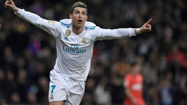 Espagne: Ronaldo et le Real fin prêts pour Paris