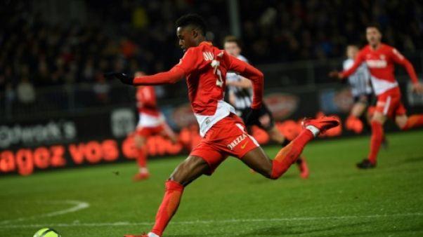 Ligue 1: Monaco donne la leçon à Angers et reprend seul la 2e place