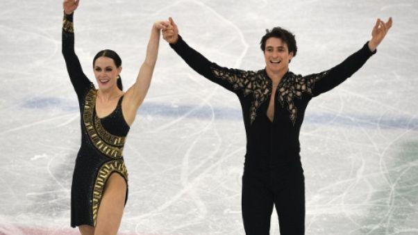 JO-2018: Virtue et Moir accentuent l'avance du Canada en patinage