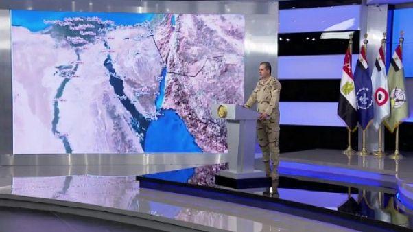 Egypte: 16 jihadistes tués et 34 arrêtés dans l'opération antijihadistes au Sinaï