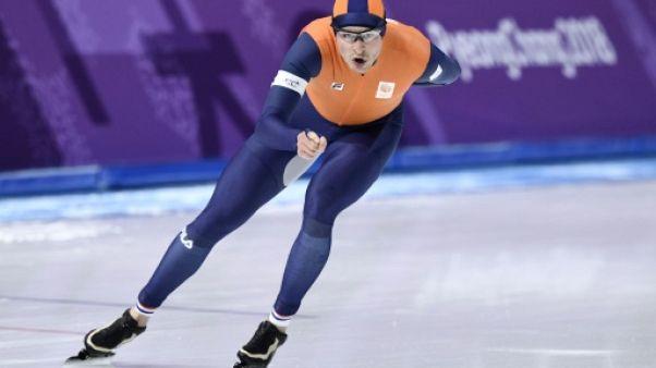 JO-2018: Kramer devient le patineur de vitesse le plus médaillé de l'histoire