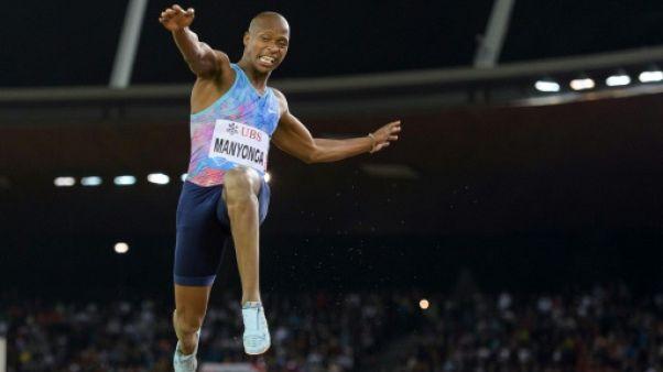 Athlétisme: MPM en 8m40 pour le champion du monde Manyonga, en salle à Metz