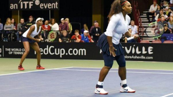 Fed Cup: les États-Unis en demies, Serena a rejoué