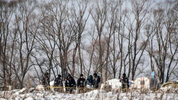 Crash d'un Antonov près de Moscou: la boîte noire retrouvée