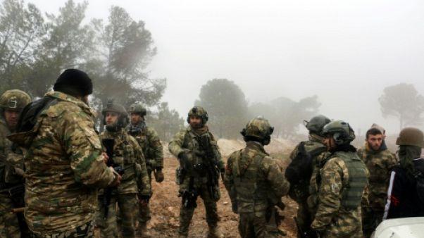 Syrie: 31 soldats turcs tués depuis le début de l'offensive, selon l'armée