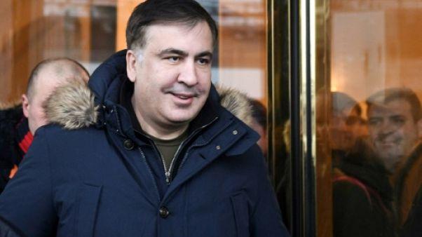 Expulsé d'Ukraine l'opposant Saakachvili se retrouve en Pologne