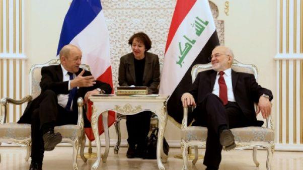 """Irak: Paris appelle à des élections """"vertueuses"""", participera à la reconstruction"""