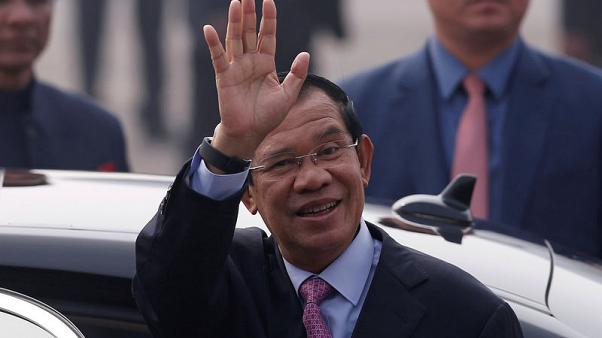Image result for Cambodian leader calls rival 'crazy and stupid' over Facebook case