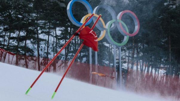 JO-2018: Descente messieurs et géant dames, 4 heures de ski non stop jeudi