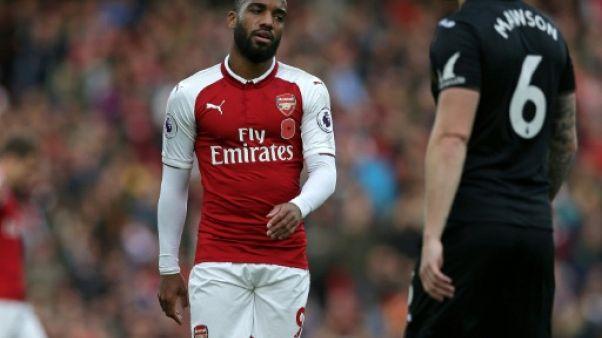 Arsenal: Lacazette opéré du genou et absent 4 à 6 semaines