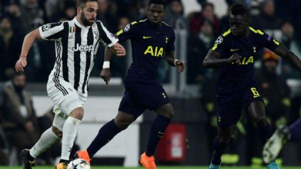 Ligue des champions: la Juve manque l'occasion d'assommer Tottenham