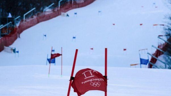 JO-2018: le slalom dames reporté à vendredi (officiel)