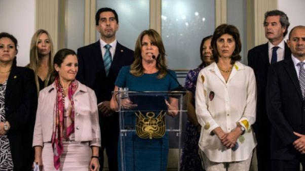 Venezuela: le groupe de Lima exige un nouveau calendrier électoral