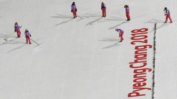 JO-2018: l'épreuve de saut du combiné nordique retardée à 15h30 à cause de la météo