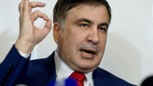Expulsé d'Ukraine, l'opposant Saakachvili reste un problème pour Porochenko