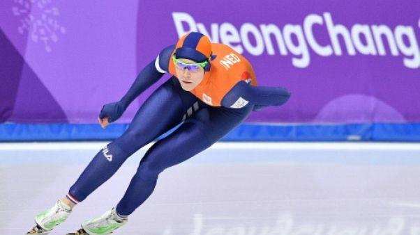 JO-2018: les patineurs néerlandais reçus 5 sur 5, Ter Mors en or sur 1.000 m