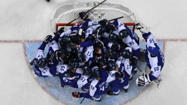 JO-2018: deux grosses surprises en ouverture du hockey messieurs