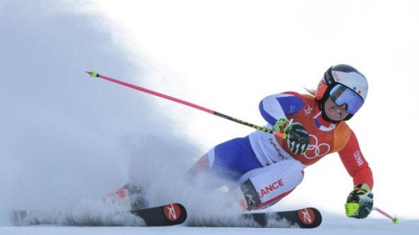 JO-2018: Worley très mal partie au slalom géant, Moelgg devant Shiffrin