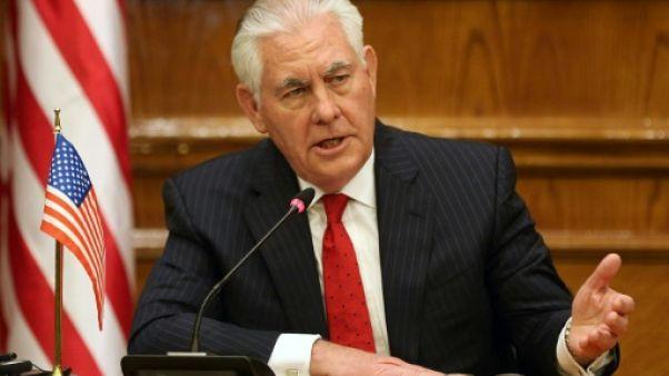 Tillerson à Ankara sur fond de tensions exacerbées par la crise syrienne