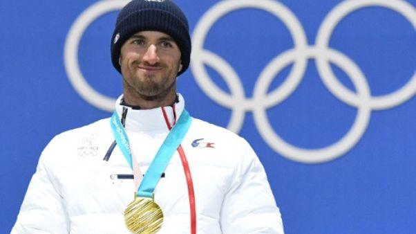 JO-2018: Pierre Vaultier, une 2e médaille d'or en vrai patron