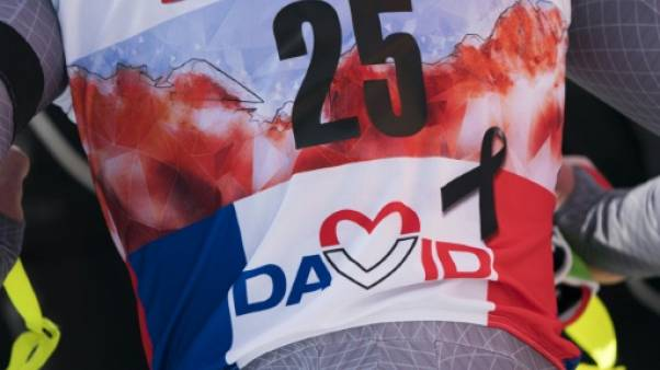 JO-2018: les descendeurs français n'ont pu rendre hommage à David Poisson