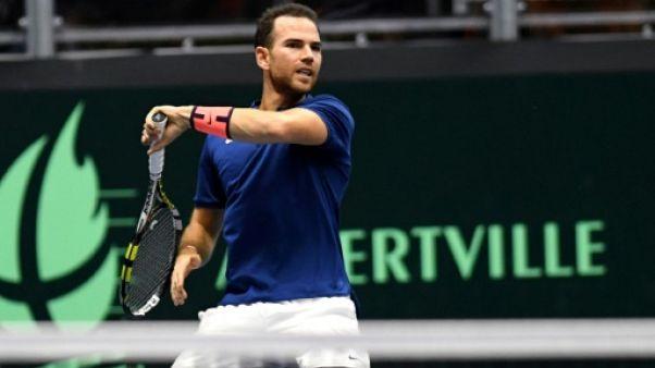 Tennis: Mannarino en quarts à New York, Chardy cale en 8es