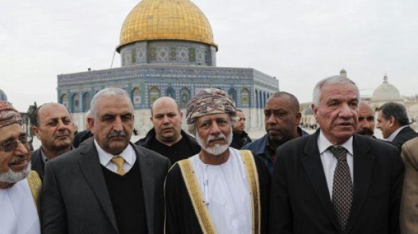 Rare visite d'un ministre arabe sur l'esplanade des Mosquées à Jérusalem