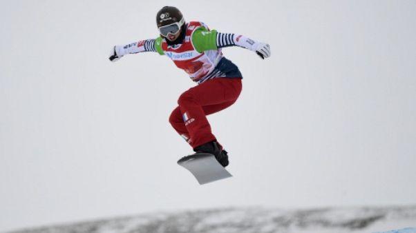 JO-2018: les quatre Françaises en quarts de finale du snowboardcross