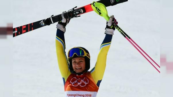 JO-2018: la Suédoise Hansdotter en or au slalom, Shiffrin 4e