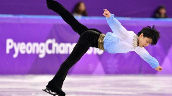 JO-2018: le patineur japonais Hanyu éblouit pour son retour, Chen s'écroule
