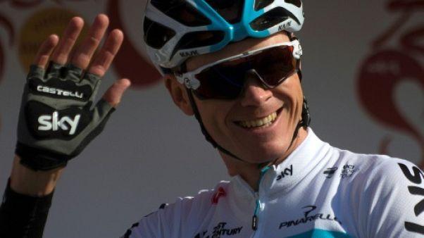 Tirreno-Adriatico: Chris Froome emmènera l'équipe Sky