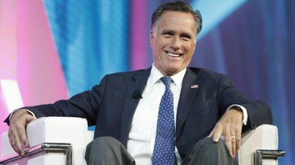 Ardent critique de Trump, Romney revient dans l'arène politique