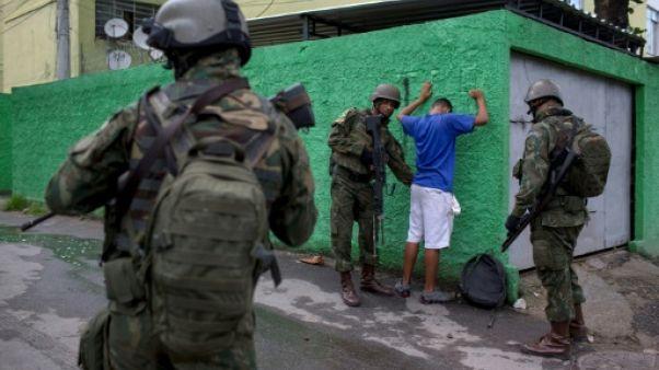 L'armée prend le commandement de la sécurité de Rio