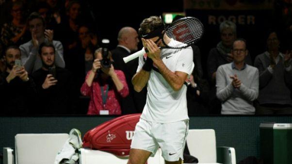 Tennis: le record de Federer dans l'histoire du sport
