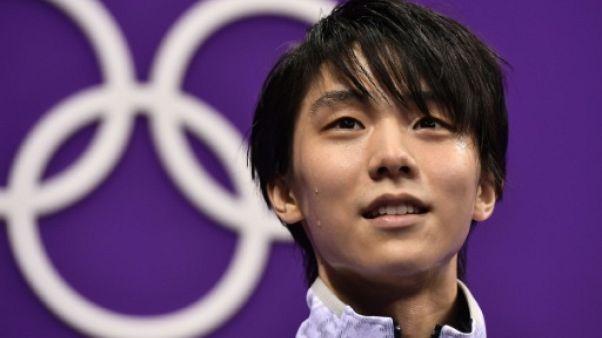 JO-2018: le Japonais Yuzuru Hanyu conserve son titre en patinage artistique