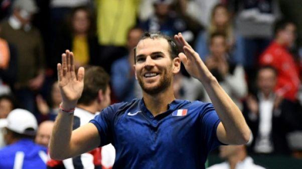 Tennis: Mannarino en demi-finales à New York