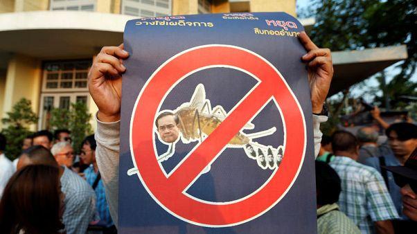 تايلانديون يخططون لمزيد من الاحتجاجات تمهيدا لذكرى الانقلاب في مايو