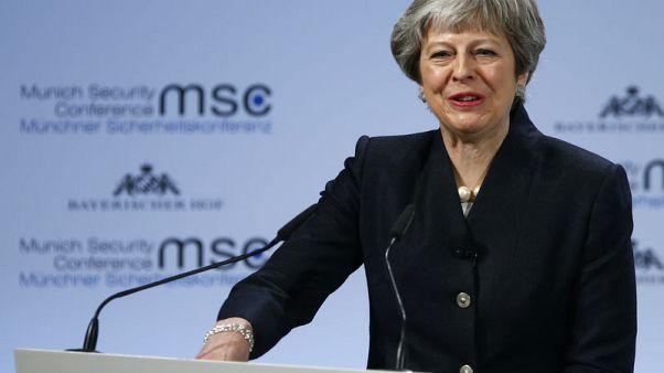 ماي تدعو إلى معاهدة أمنية بين بريطانيا والاتحاد الأوروبي بحلول 2019