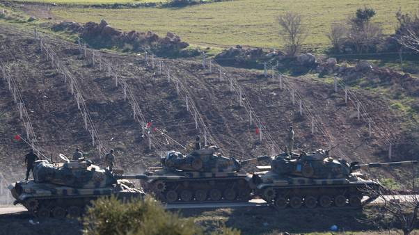 تركيا تنفي استخدام الأسلحة الكيماوية في عفرين السورية