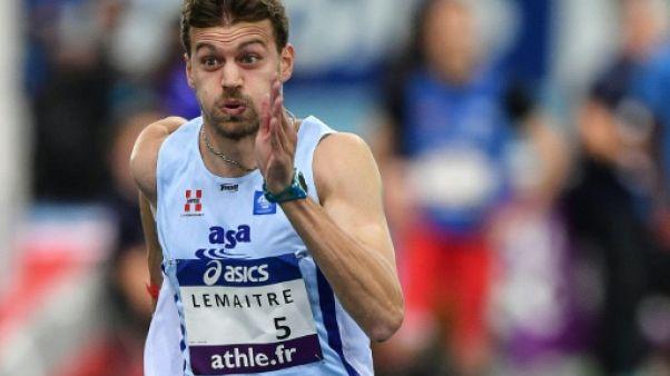 Athlétisme: Lemaitre se rate en Championnats de France, joli retour pour Martinot-Lagarde