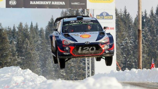 Rallye de Suède: Neuville creuse l'écart sur ses poursuivants