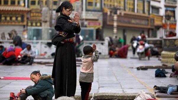 حريق في معبد بالتبت ولا تقارير عن إصابات