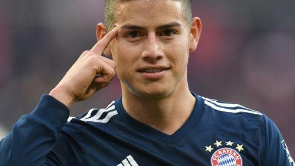 """Ligue des champions: hold-up sur le Bayern pour """"El bandido"""" James"""