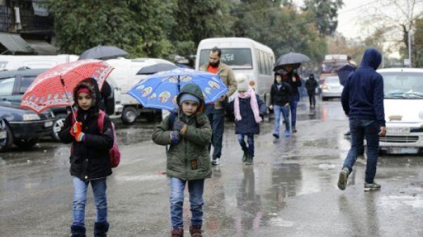 Des écoles de Damas rouvrent après des jours de bombardements rebelles