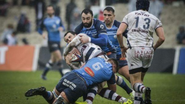 Top 14: Bordeaux-Bègles et Clermont lâchent prise