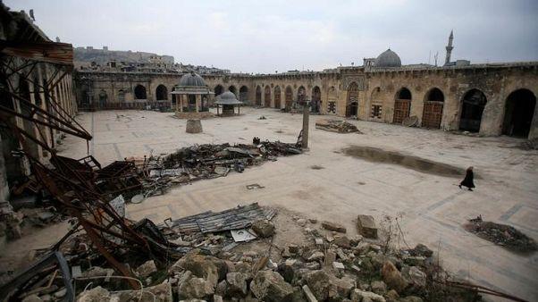 بعد دمار الحرب.. الجامع الأموي في حلب يستعد للعودة إلى الحياة